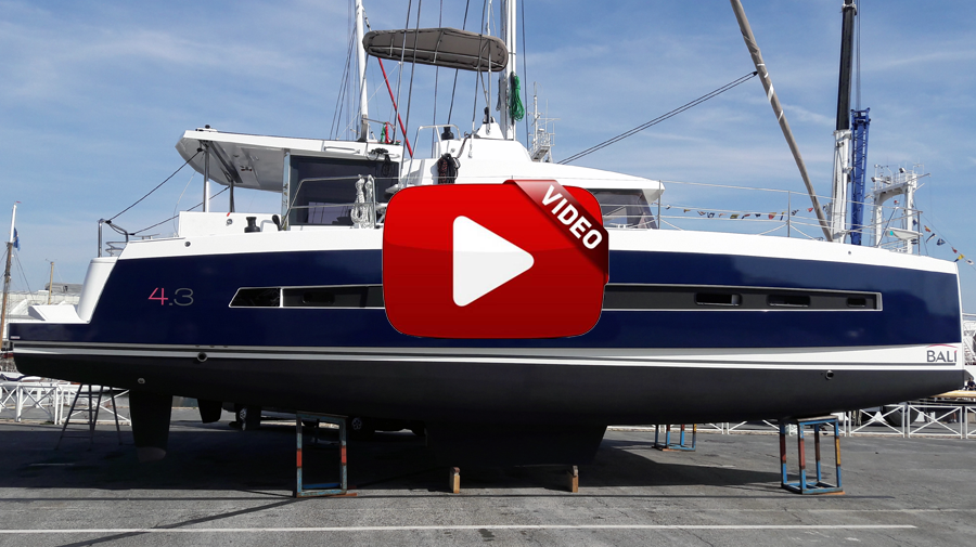 vidéo du wrapping du Bali 4.3 de Catana Group