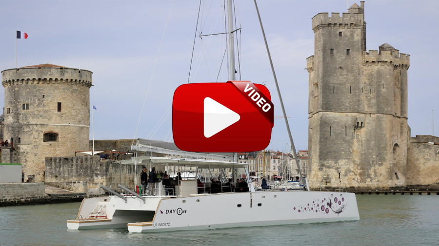 vidéo du wrapping du Day One BB Sea de yacht Concept